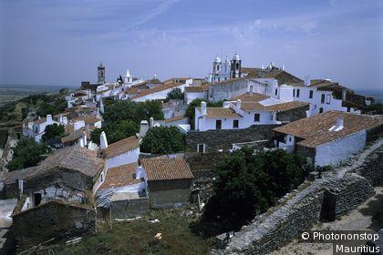Ortsansicht Süd-Portugal, Distrikt Evora.