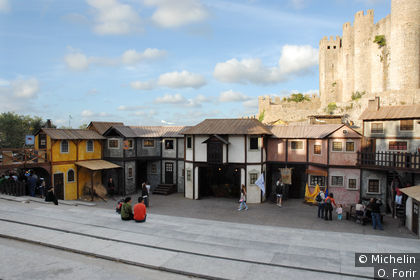 Fête médiévale d'Obidos du 10 au 20 juillet 2008.