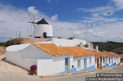 Portugal, Algarve Odeceixe, windmill