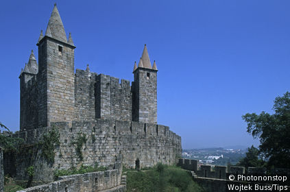 Portugal, Santa Maria da Feira, the castle
