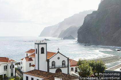 Portugal, Madère, île de Madère, Seixal, Océan Atlantique