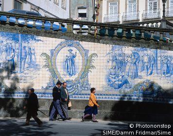 Portugal / Viseu / Beira Alta / Azulejos