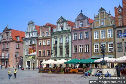 Poland, Poznan, ages market place, Stary Rynek