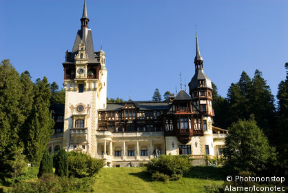 Roumanie, Munténie, Sinaia, château de Peles