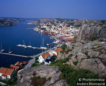 The pretty fishing village of Fjallbacka in the Bohuslan Archipelago.