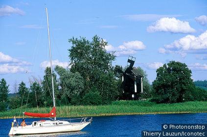 Finlande, lac Suvasvesi, Kuopio