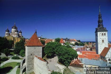 Estonia, Tallinn: cityscape