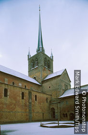 Switzerland, Payerne, church