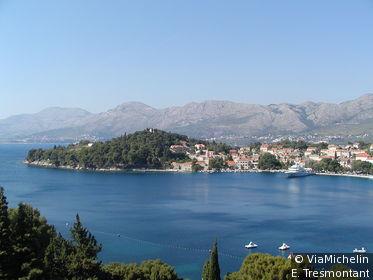 Célèbre station balnéaire à 20 km de Dubrovnik
