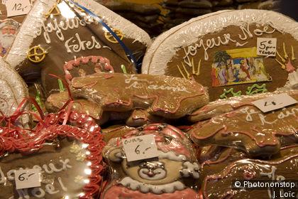 Marché de Noël place Broglie à Strasbourg