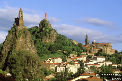 Le Puy en Velay, vue générale