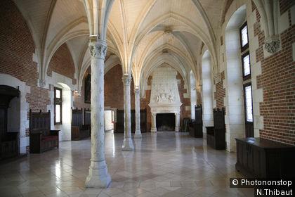 Sala del Consejo del castillo de Amboise
