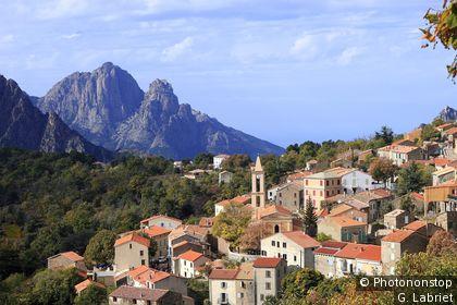 Village d'Evisa