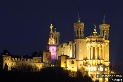 Notre-Dame de Fourvière in Lyon