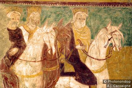 Fresco of