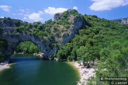 Pont d'Arc, pont naturel sur l'Ardèche