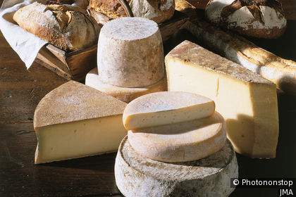 Tomme, Beaufort, Reblochon, Abondance - cheeses from the Alps