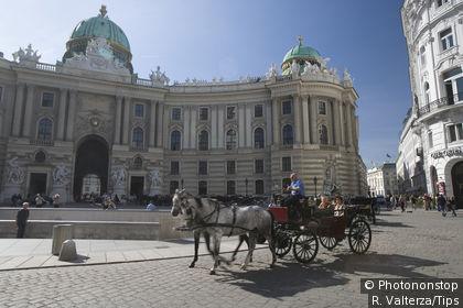 Michaelerplatz et Hofburg, Imperial Palace