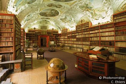 Sala Teológica, biblioteca de Strahov, monasterio de Strahov
