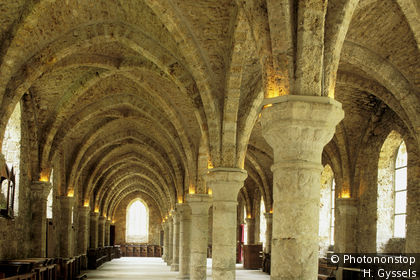 Monks' Hall, Cistercian Abbey of Vaux de Cernay