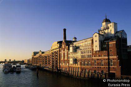 Southwark, Butlers Wharf y el río Támesis