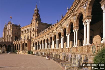 Place d'Espagne à Seville
