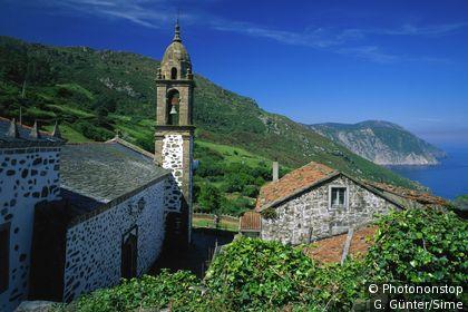 La Sierra de Capelada en Galice