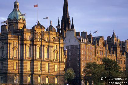 Edinburgh, old town, Bank of Scotland