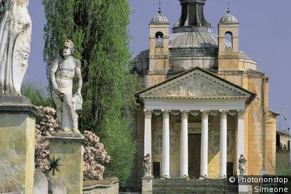 Eglise de Palladio dans la villa Barbaro