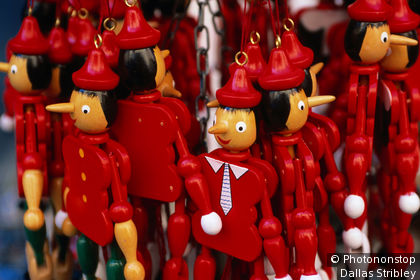 Pinocchio figurines