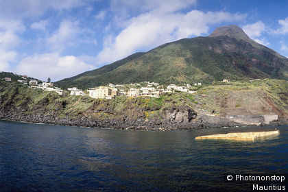 îles Eoliennes, île Stromboli, Ginostra