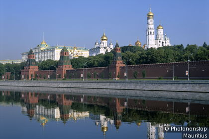 View of the Kremlin and the Moskova