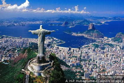 Birds Eye View of Rio de Janeiro Bird's Eye View of The