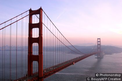 Le Golden Gate à San Francisco