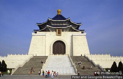 Asia, Taiwan, Taipei: Chiang Kai Shek Memorial