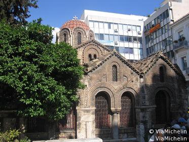 Eglise byzantine de Kapnikarea