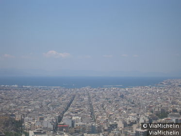 Vue sur le Pirée