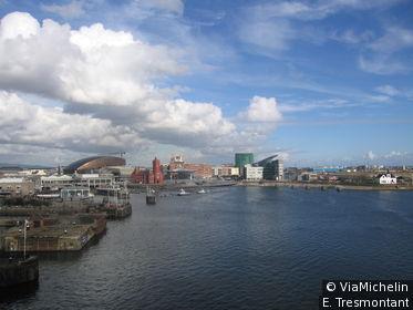 Le port de Cardiff