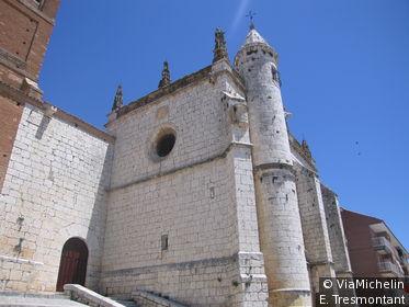 A Tordesillas fut signé en 1494 un célèbre traité entre l'Espagne et le Portugal.