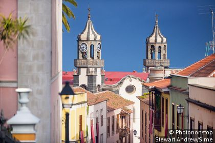 Espagne, Iles Canaries, Canaries, Tenerife, Santa Cruz de Tenerife - Plaza Del Ayuntamiento