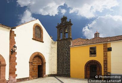Espagne, îles Canaries, Tenerife, La Laguna, église Ex convento de Santo Domingo