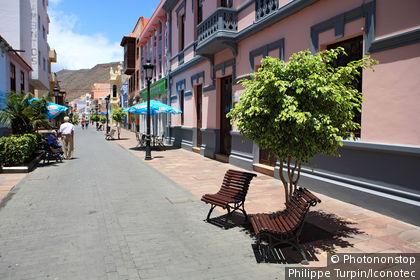 Espagne, Canaries, La Gomera, San Sebastian, calle real