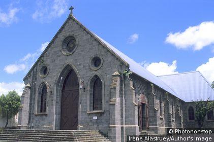 Ile Maurice - Centre-Rose Hill - Notre Dame de Lourdes