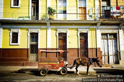 Cuba, Cienfuegos, horse carriage