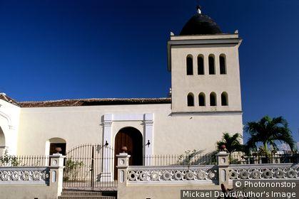 Cuba - Oriente - Holguin - Parque Peralta - San Isidoro Church