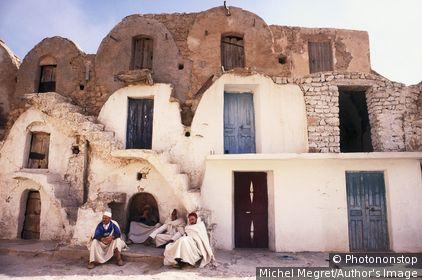 Tunisie, Tataouine, Tataouine, Zone Méditerranéenne - Ksar of Ez-Zahra