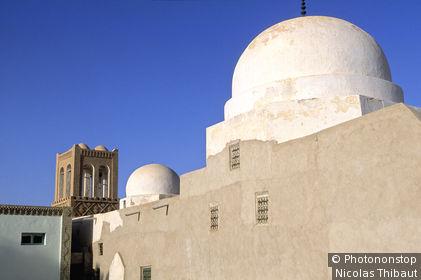Tunisie, région du Jérid, Gouvernorat de Tozeur, Nefta, marabout