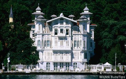 Grand house on Bosphorous, Sariyer. Istanbul, Istanbul, Turkey