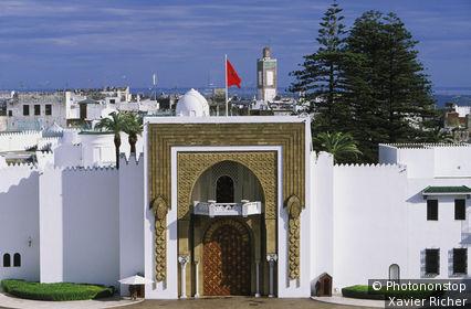 Maroc, Tétouan, palais royal