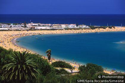 Maroc, Oualidia, plage près de El Jadida